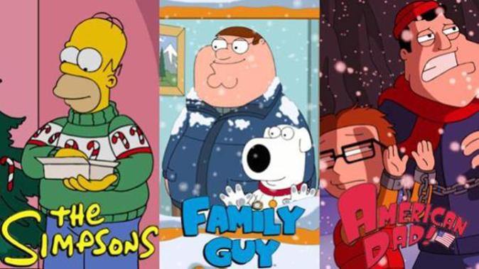 Christmas Untold, Stasera su Italia 1: Simpson, i Griffin e American Dad, prima TV per festeggiare il Natale