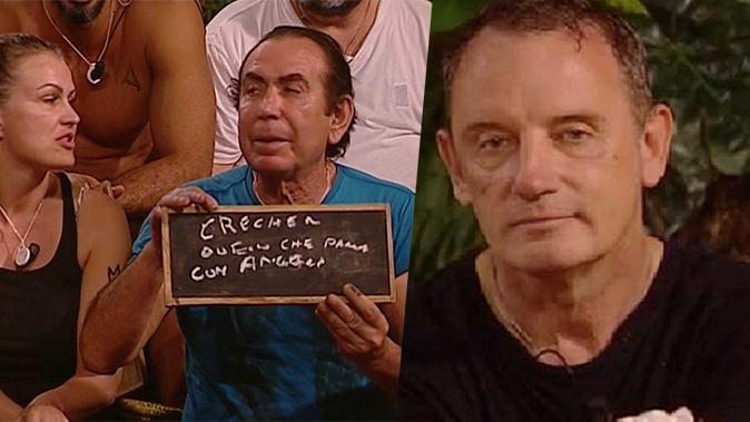 """Isola dei Famosi 2018, Giucas Casella e Craig Warwick e la prima lite tra maghi: """"Sei invidioso!"""" (Video)"""