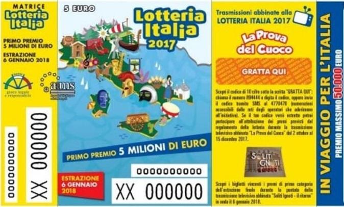 Lotteria Italia, tutti i biglietti vincenti: numero di serie e valore vincita