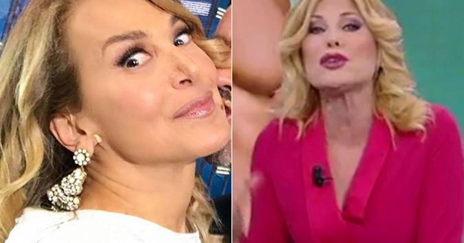 Pomeriggio 5, Barbara d'Urso asfalta Patrizia Pellegrino per le foto di Playboy: ecco cosa è successo