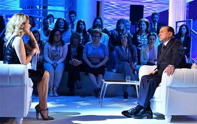 Domenica Live anticipazioni oggi 14 gennaio: Silvio Berlusconi e Lorenzo Crespi ospiti, un personaggio dall'America