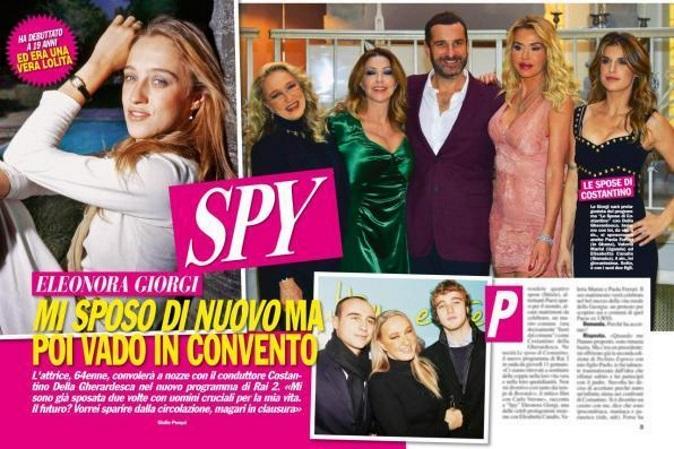 """Gossip Tv, Eleonora Giorgi: """"Lascio tutto e mi chiudo in convento. Molestie? So cosa significa"""""""