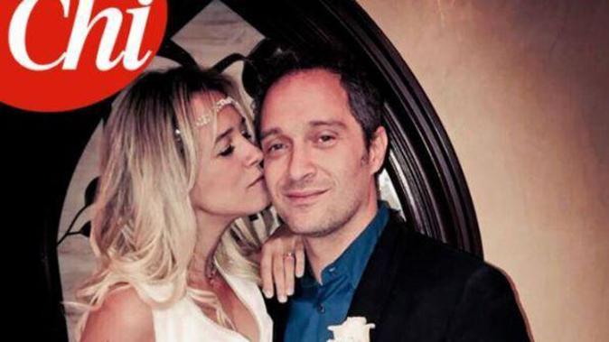 Gossip, Claudio Santamaria e Francesca Barra sposi: ecco la foto inedita delle nozze segrete