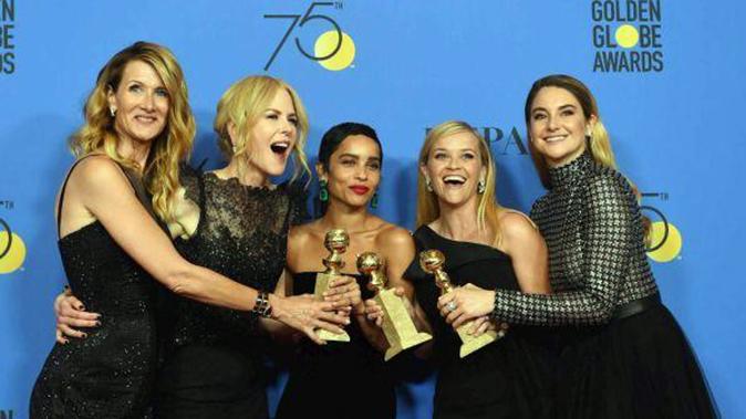 Golden Globe, tutti i premi: Big Little Liars trionfa così come il look total black contro le molestie