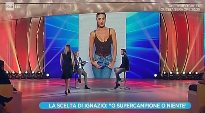 """Ignazio Moser a Domenica In, la gaffe su Cecilia Rodriguez: """"Solo una parentesi…"""" e smentisce le nozze"""