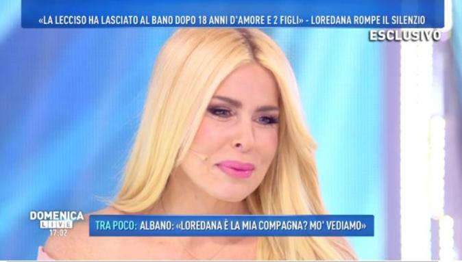 Loredana Lecciso a Domenica Live smentisce la crisi con Al Bano: la stoccata a Romina Power (Video)