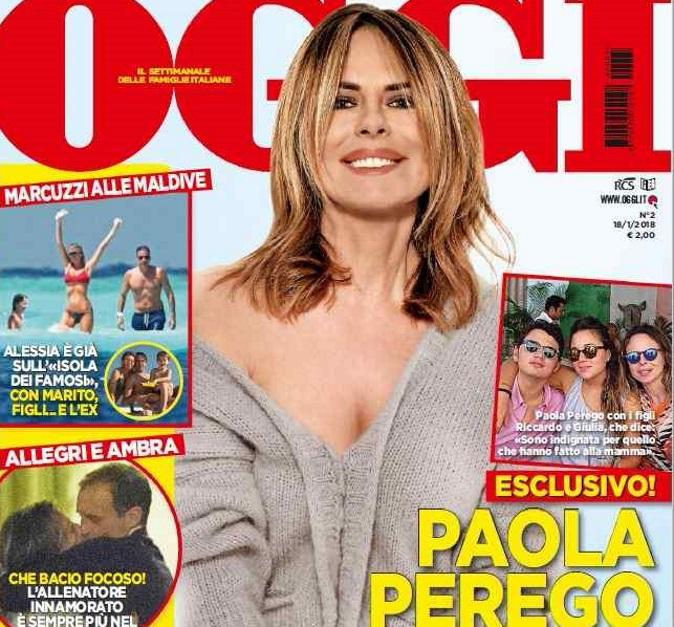 """Paola Perego torna in tv con SuperBrain: """"Sono terrorizzata ma anche elettrizzata e carica! Ora vorrei un bambino"""""""