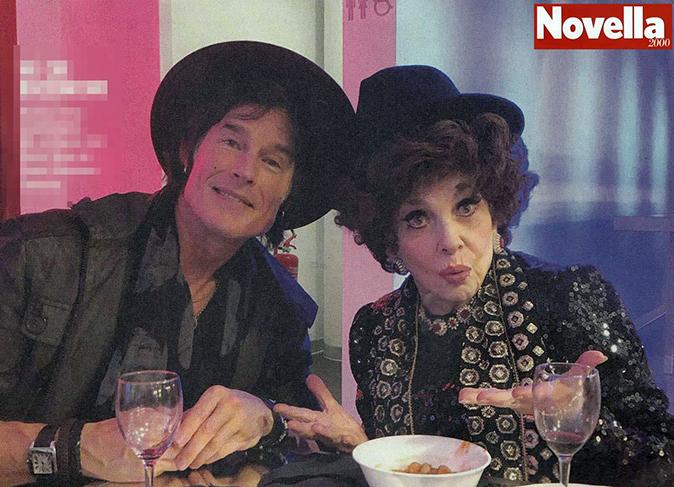 Ridge di Beautiful a cena con Gina Lollobrigida, la strana coppia: Ronn Moss condivide lo scatto