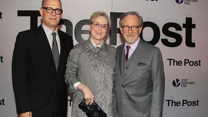 Che tempo che fa, anticipazioni e ospiti: Steven Spielberg, Tom Hanks e Meryl Streep in studio da Fazio