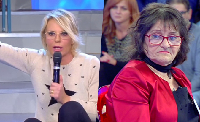 Uomini e Donne Over, Maria s'infuria con Emy e perde le staffe: 'E' orrendo, chiedi scusa!' (Video)