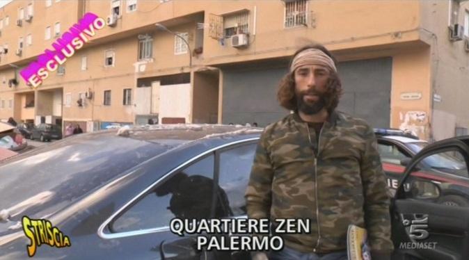 Vittorio Brumotti, Striscia la Notizia: il video integrale dell'aggressione allo Zen di Palermo, nella puntata di stasera