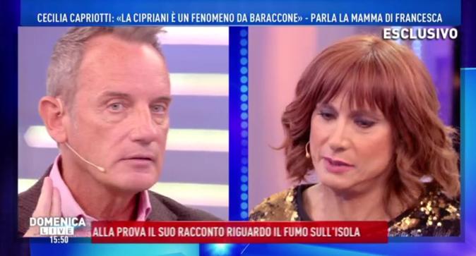 """Domenica Live, le nuove accuse di Craig: """"Franco è omofobo!"""", Vladimir Luxuria svela che…"""