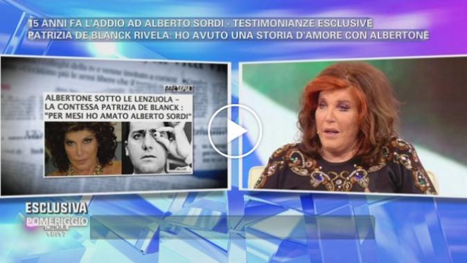 """Alberto Sordi, 15 anni fa l'addio: il ricordo a Pomeriggio 5, da Carlo Verdone a Patrizia De Blanck, """"non era gay, ci amavamo"""""""
