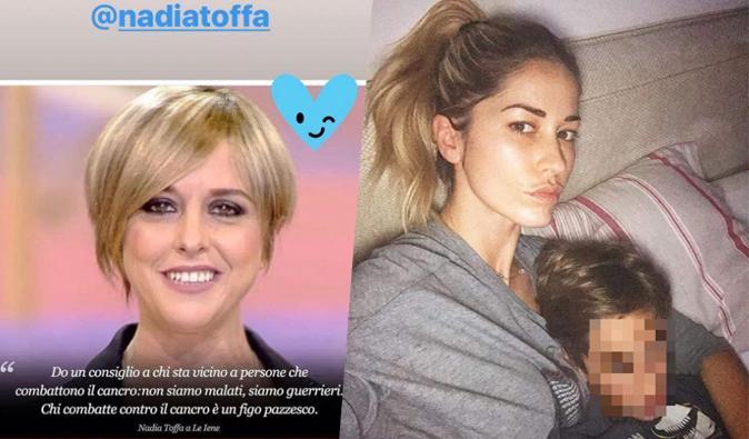 """Elena Santarelli risponde a Nadia Toffa: """"E' proprio così, mio figlio Giacomo è un guerriero come te!"""""""
