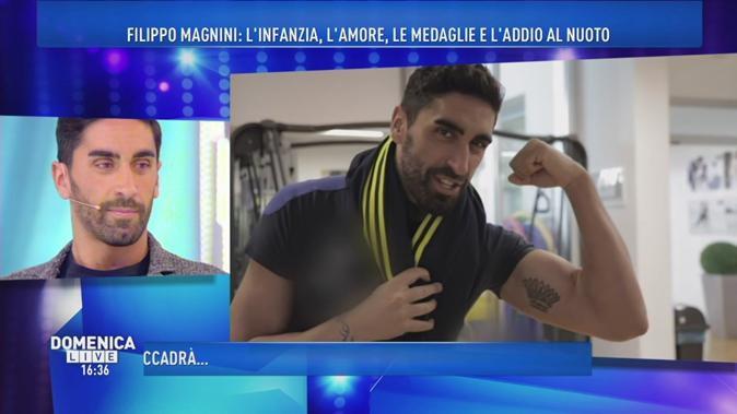 """Gossip Tv, Filippo Magnini a Domenica Live: """"Federica Pellegrini? Ecco cosa è successo a Verona…"""""""