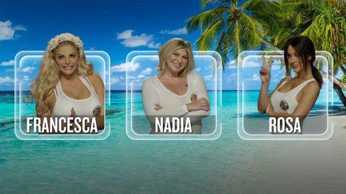 Isola dei Famosi 13, anticipazioni terza puntata: Nadia, Rosa e Francesca, chi verrà eliminata?