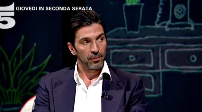 """L'Intervista, Gigi Buffon: """"Alena Seredova è una persona che ringrazierò, con Ilaria D'Amico durerà per sempre"""""""