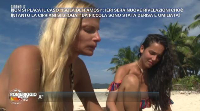 """Isola dei Famosi, Francesca Cipriani vittima di bullismo: """"Sei un mostro, fai schifo…"""" (Video)"""