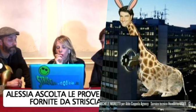 Striscia la Notizia, audio shock: Chiara Nasti rivela un altro nome e Magnolia si scaglia contro Mediaset
