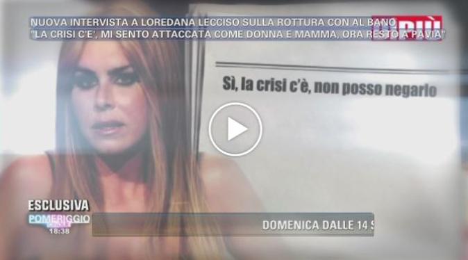 Gossip News, Loredana Lecciso conferma la crisi con Al Bano: poi lancia il dardo infuocato per Romina
