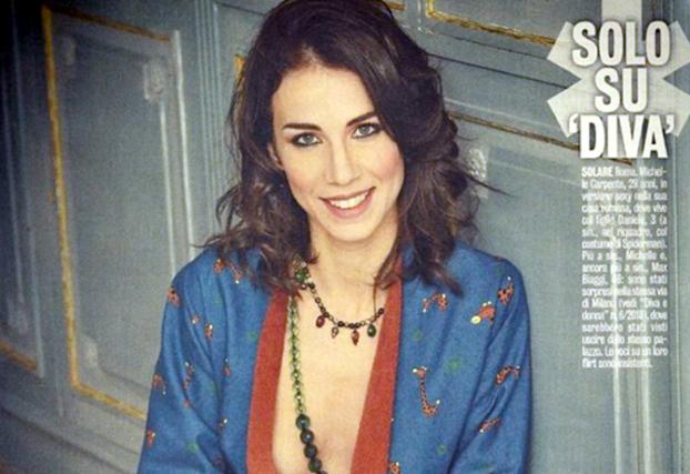 """Gossip news, Max Biaggi e Michelle Carpente insieme? """"Non sono bella come Bianca Atzei ed Eleonora Pedron"""""""