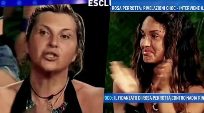 Isola dei Famosi, Rosa Perrotta contro Nadia Rinaldi: lo scontro in Honduras prosegue a Domenica Live