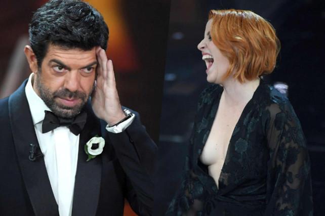 Sanremo 2018, Noemi fuori di seno: incidente hot per la cantante dopo la denuncia