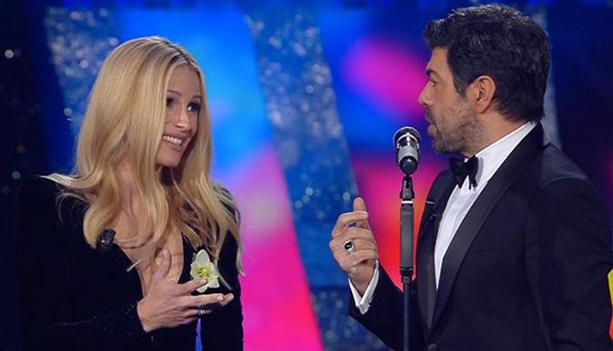 """Michelle Hunziker dopo Sanremo 2018: """"Sono fortunata!"""", arriva la dedica di Pierfrancesco Favino"""