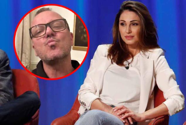 Anna Tatangelo parla della rottura con Gigi al Maurizio Costanzo Show: D'Alessio interviene al telefono
