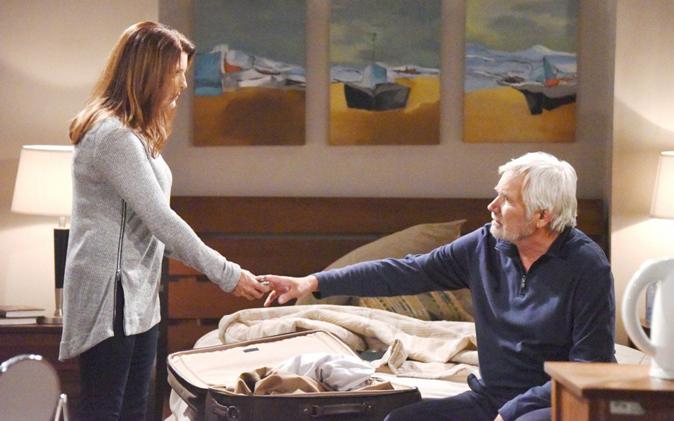 """Beautiful, anticipazioni dal 26 al 31 marzo: Eric chiude con Ridge, """"Non sarai più mio figlio!"""""""