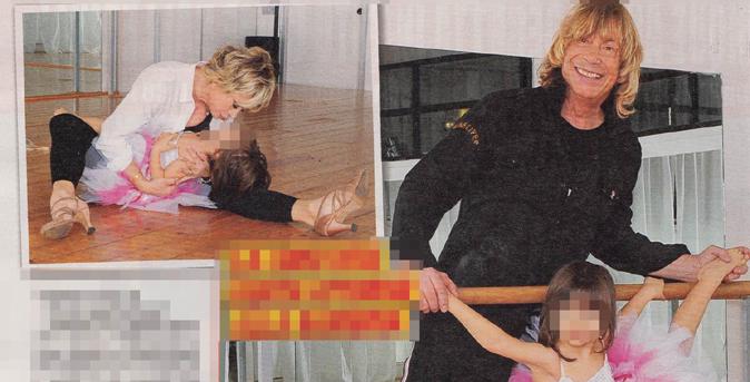 Gossip Tv, Carmen Russo ed Enzo Paolo Turchi raccontano Maria: la passione per la danza
