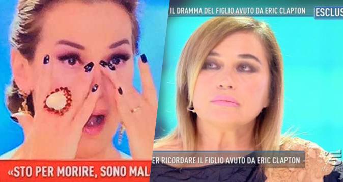 Domenica Live, Lory Del Santo: il racconto shock sulla morte del figlio, Barbara d'Urso in lacrime