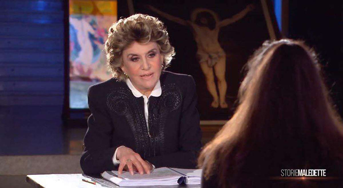 """Franca Leosini, da Sanremo a Storie Maledette: """"Sono sempre me stessa con l'ironia deformante…"""""""