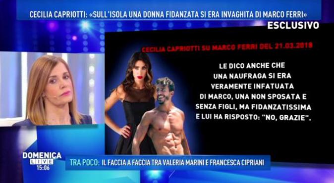Domenica Live, Marco Ferri è gay? La risposta della madre che tutti i figli vorrebbero ricevere