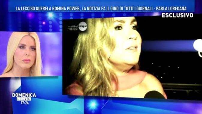 """Domenica Live, Loredana Lecciso querela Romina Power e su Al Bano: """"Solo una grande amicizia!"""""""