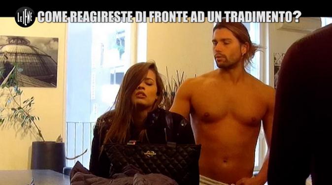 Ivana Mrazova e Luca Onestini, lo scherzo a Le Iene: lui la tradisce, la reazione della modella – VIDEO