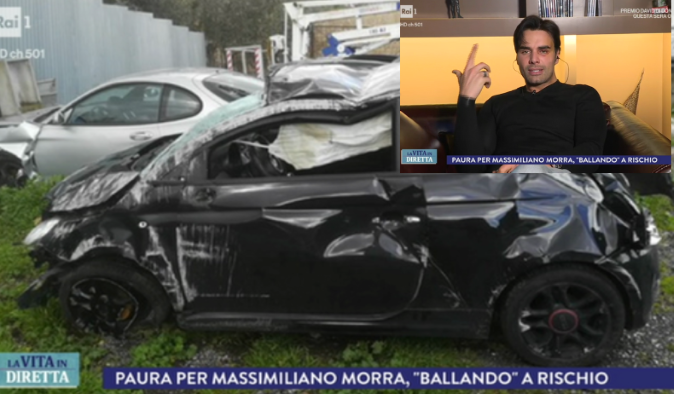 Ballando con le Stelle 2018, paura per Massimiliano Morra: incidente stradale e corsa in ospedale, come sta?