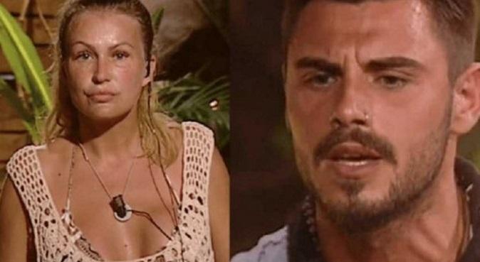 Canna-gate dell'Isola dei Famosi: Francesco Monte ed Eva Henger faccia a faccia al Maurizio Costanzo Show