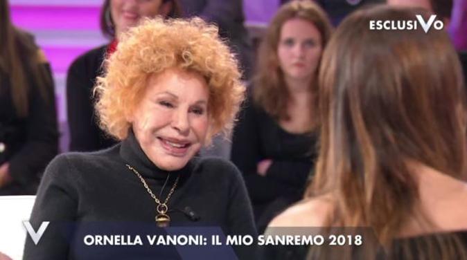 """Ornella Vanoni a Verissimo e il gesto dell'ombrello: """"Tiè depressione!"""", ecco la sua storia"""