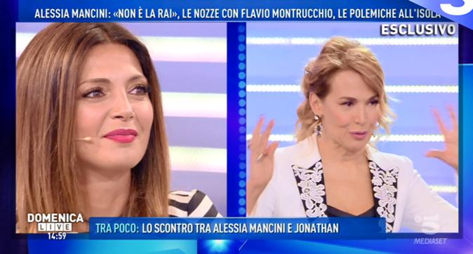 Domenica Live, Alessia Mancini: lite trash con Cecilia Capriotti ed Elena Morali, Barbara d'Urso si arrabbia