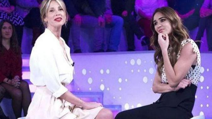 """Alessia Marcuzzi a Verissimo, canna-gate dell'Isola: """"Quanto mi hanno detto ubriacona, sono stata male!"""""""