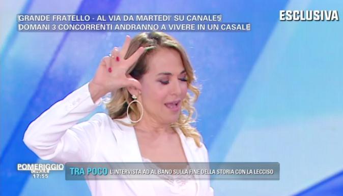 """Grande Fratello 2018, Barbara d'Urso presenta il Casale: ecco chi sono i tre """"super boni"""" svelati a Pomeriggio 5"""