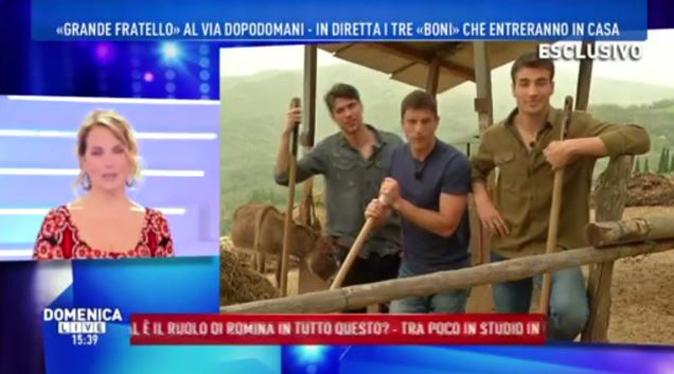 """Grande Fratello 2018, Barbara d'Urso si collega con i tre """"super boni"""": concorrenti ufficiali"""