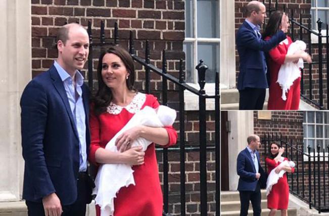 William e Kate, è nato il terzo figlio maschio: i primi scatti con il Royal Baby