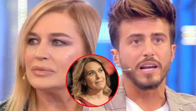 """Marco Ferri e Lory Del Santo a Domenica Live: """"Stupita che non ci abbia provato"""", lui ci prova con la d'Urso"""