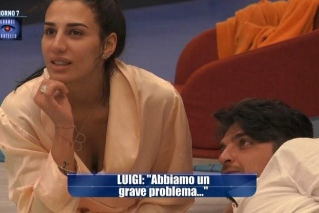 """Grande Fratello 2015: Luigi Favoloso in crisi con Nina Moric. Lei: """"Non lo riconosco"""", l'attrazione con Patrizia"""
