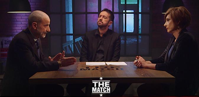 """The Match, Massimo Gandolfini VS Vladimir Luxuria, scontro shock: """"L'omosessualità è un disturbo…"""""""