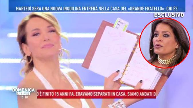 Domenica Live, Barbara d'Urso legge l'agenda di Aida Nizar: spunta una frase particolare…