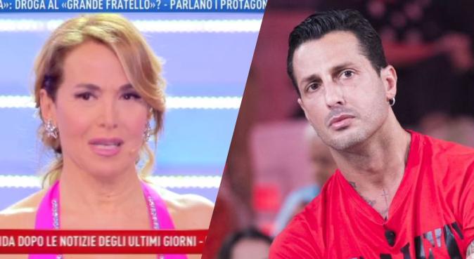 """Barbara d'Urso e Fabrizio Corona, guerra a distanza a Domenica Live: """"Se non avessi la coda di paglia…"""""""