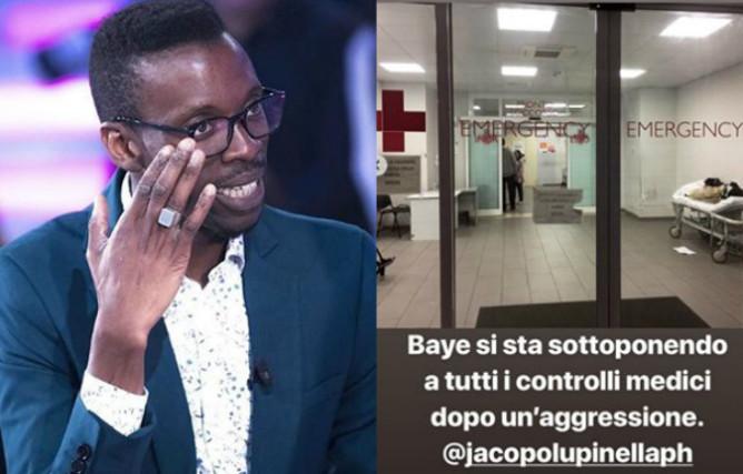 Grande Fratello 15, Baye Dame aggredito a Roma: controlli medici in ospedale, ecco le ultime